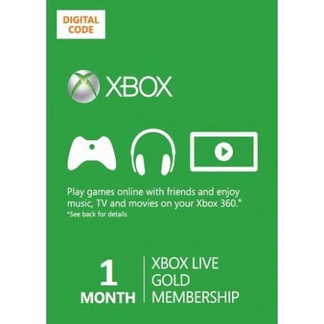 Xbox Live Gold на 1 месяц