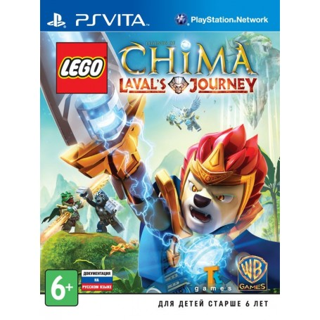 LEGO Legends of Chima. Laval's Journey (PS Vita)