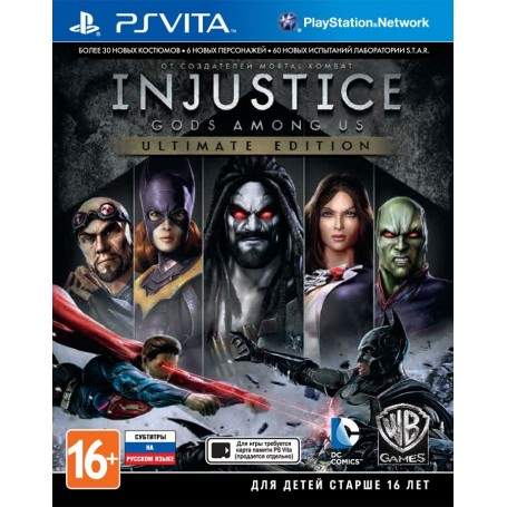Injustice. Gods Among Us. Ultimate Edition (PS Vita)