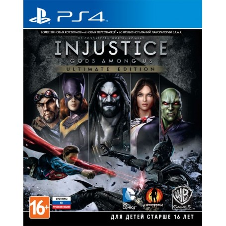 Injustice. Gods Among Us. Ultimate Edition (PS4)
