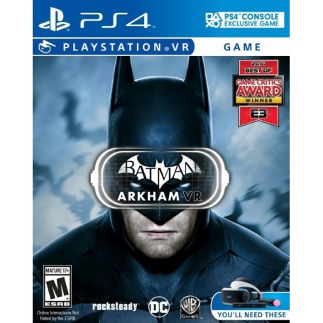Batman. Arkham (PS4, VR)