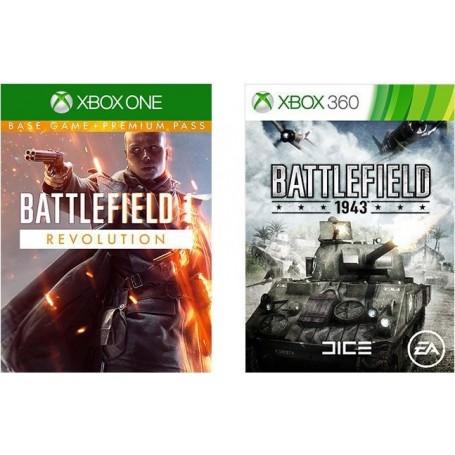 "Набор из двух игр ""Battlefield 1. Революция и Battlefield 1943"" (Xbox One)"