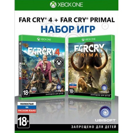 Far Cry 4+Far Cry Primal (Xbox One)