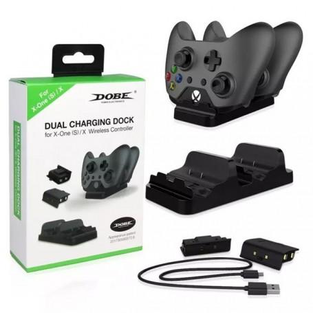 Зарядное + 2 аккумулятора(Xbox One)