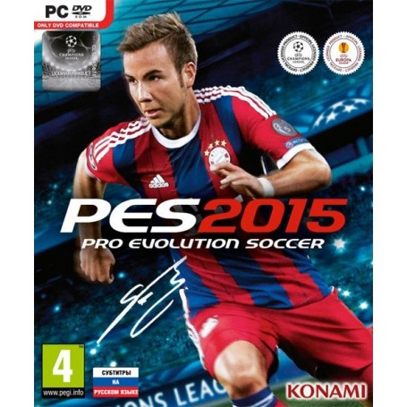 Pro Evolution Soccer 2015 (PC, Box)