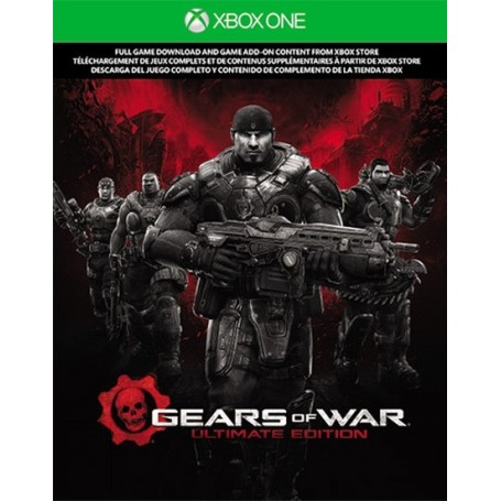 Код загрузки Gears of War. Ultimate Edition (Xbox One)
