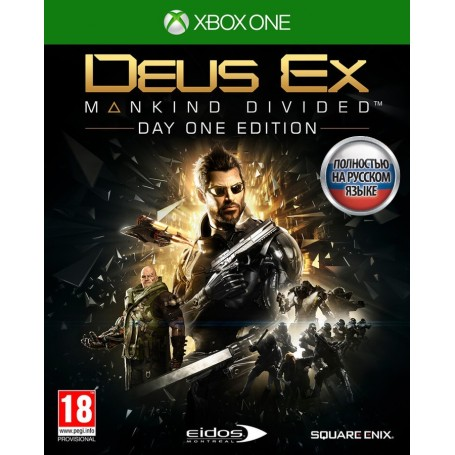 Deus Ex Mankind Divided. Day One Edition (Xbox One)