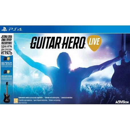 Guitar Hero Live Bundle (PS4) Гитара + игра