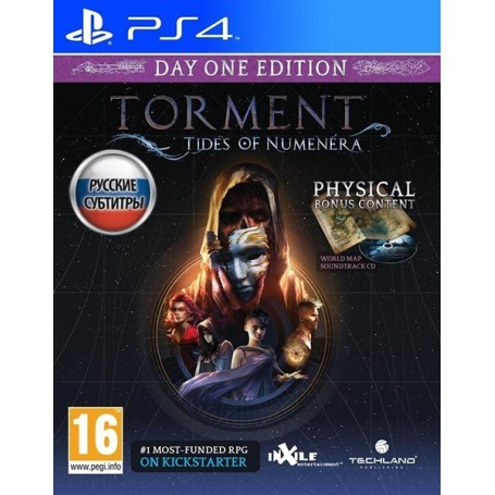 Torment Tides of Numenera. Day One Edition (PS4)