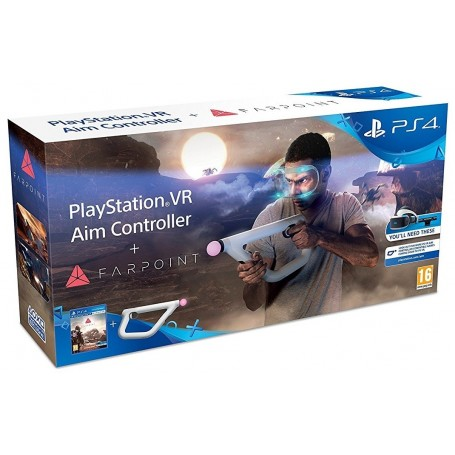 "Farpoint + ""Контроллер прицеливания PS VR"""