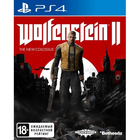 Wolfenstein 2. The New Colossus (PS4)