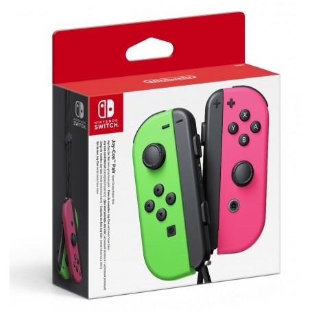 Набор 2 Контроллера Joy-Con (зелёный/розовый)