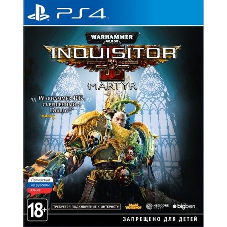 Warhammer 40,000 Inquisitor - Martyr (PS4)