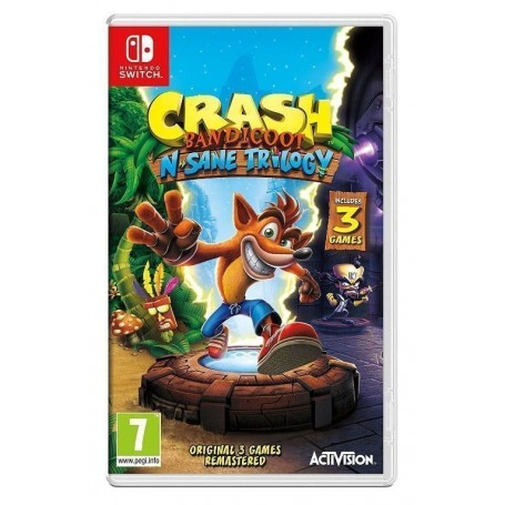 Crash Bandicoot N'sane Trilogy (Switch)