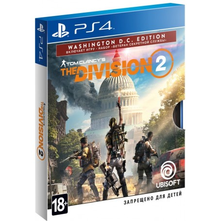 Tom Clancy's The Division 2. Washington D.C. Edition (PS4)
