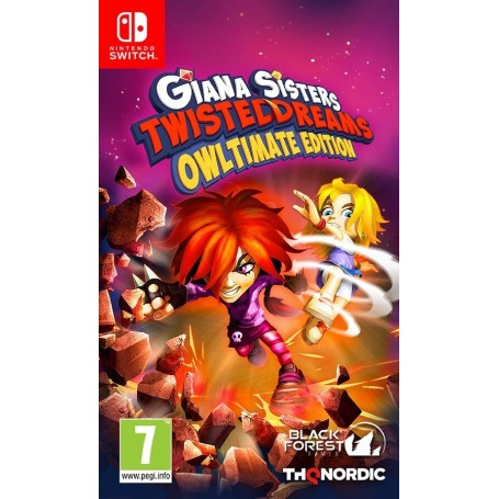 Giana Sisters. Twisted Dream - Owltimate Edition (Switch)