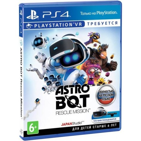 Astro Bot Rescue Mission (PS4, VR)