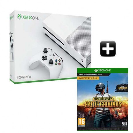 Xbox One S 500Gb + PlayerUnknown's Battlegrounds