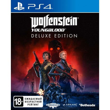 Wolfenstein Youngblood. Deluxe Edition (PS4)