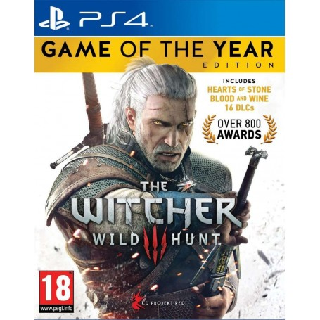 Ведьмак 3. Game of the Year Edition (PS4) Русские субтитры