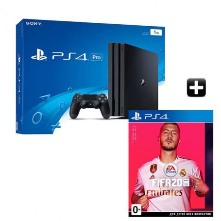 PS4 PRO 1TB + FIFA 20