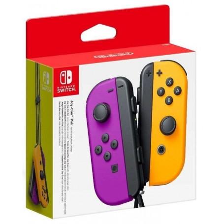 Набор 2 Контроллера Joy-Con (фиолетовый/оранжевый)