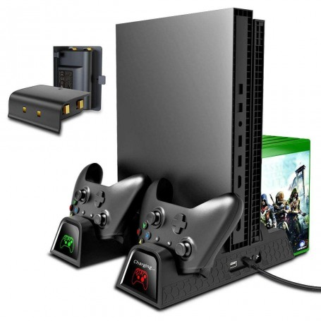 Multi-Function Cooling Stand Black (Xbox One)