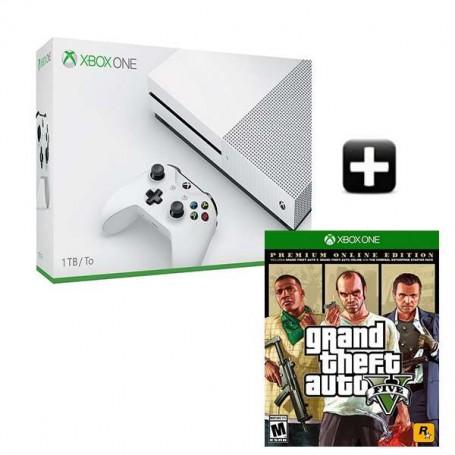 Xbox One S 1TB + GTA 5. Premium Edition