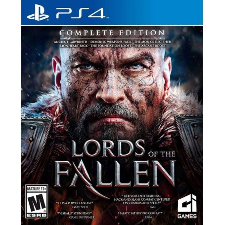 Lords of the Fallen. Complete Edition (PS4)