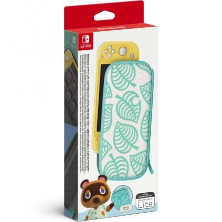 Чехол и защитная плёнка Animal Crossing: New Horizons (Switch Lite)