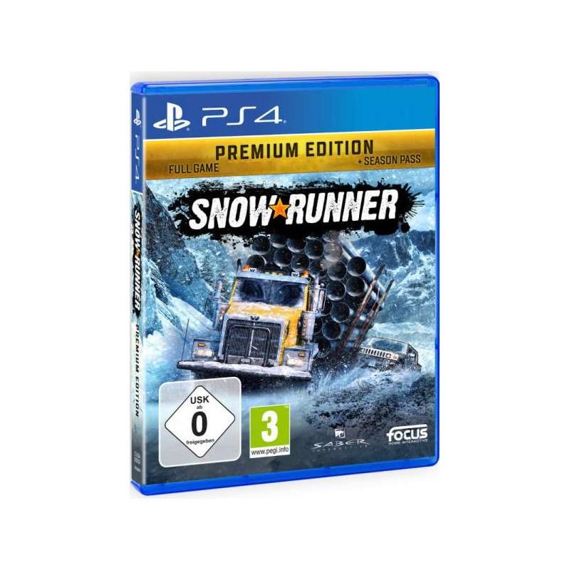Купить SnowRunner Premium издание (PS4) – Интернет магазин ...