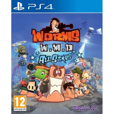 Worms W.M.D. All Stars (PS4)