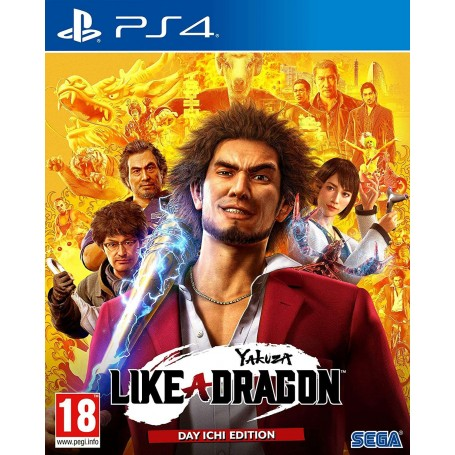 Yakuza: Like a Dragon. Day Ichi Edition (PS4)