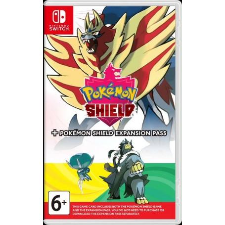 Pokemon Shield + Expansion Pass (Switch)