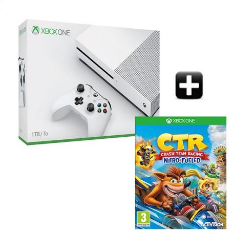 Xbox One S 1TB + Crash Team Racing Nitro-Fueled