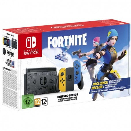 Nintendo Switch Fortnite Special Edition (Издание Фортнайт)