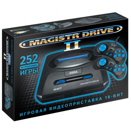 SEGA Magistr Drive 2 Little + 252 игры
