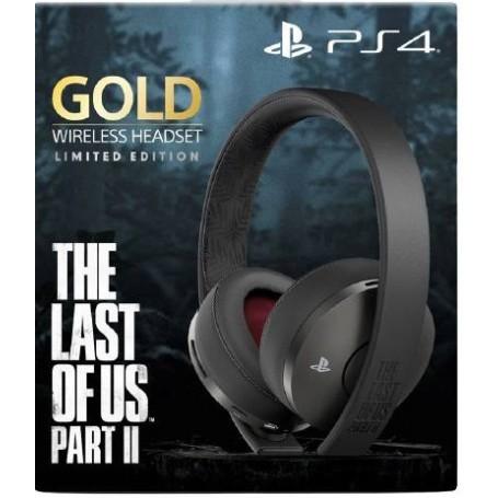 Беспроводная гарнитура Sony Gold Wireless Limited Edition The Last of Us Part II