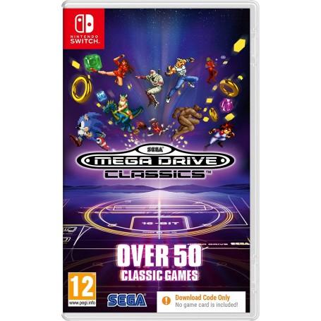 SEGA Mega Drive Classics. Код загрузки, без картриджа (Switch)
