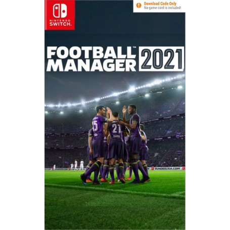 Football Manager 21 Touch. Код загрузки, без картриджа (Switch)