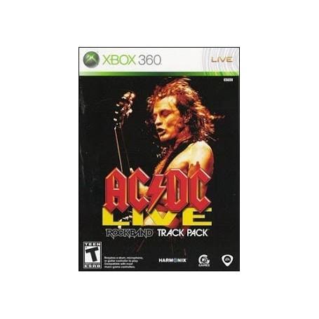Rock Band AC/DC Live Rock