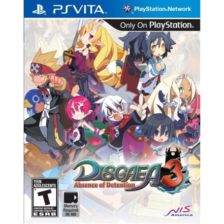 Disgaea 3. Absence of Detention (PS Vita)
